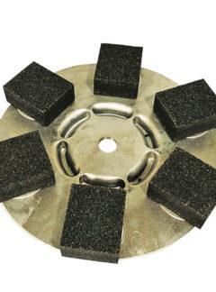 Tarcza szlifierska z 6 kamieniami K 20-0