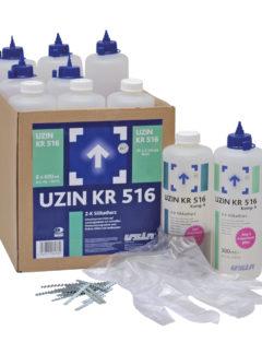 Dwuskładnikowa, silikatowa żywica naprawcza Kr 516-0