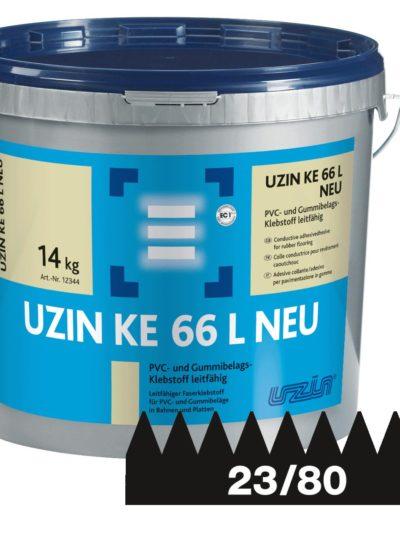 Klej zbrojony włóknami do paneli winylowych LVT Ke 66 14 Kg.-0